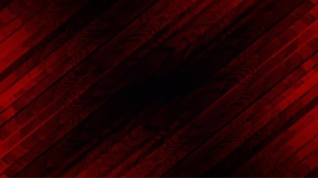Sfondo rosso crossover con abstract maculato
