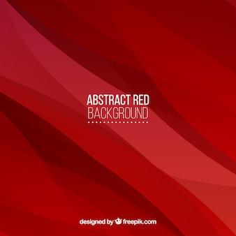 Sfondo rosso di forme astratte