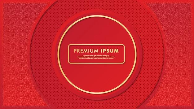 Sfondo rosso premium