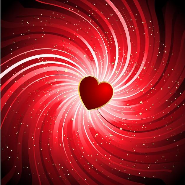 Sfondo san valentino con il cuore