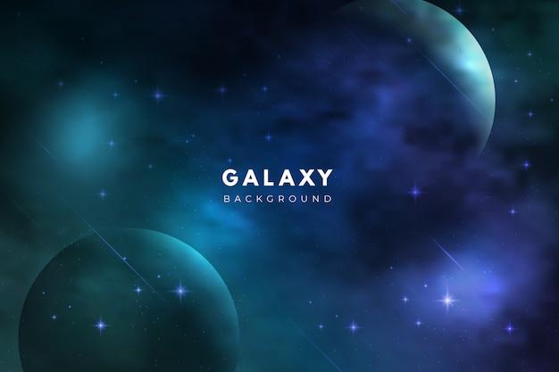 Sfondo scuro galassia astratta