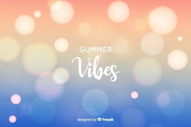 Sfondo sfocato estate estate