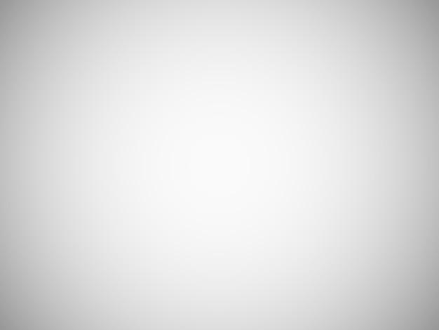 Sfondo sfocato grigio chiaro vuoto con sfumatura radiale