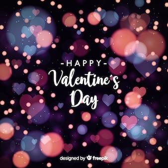 Sfondo sfocato san valentino