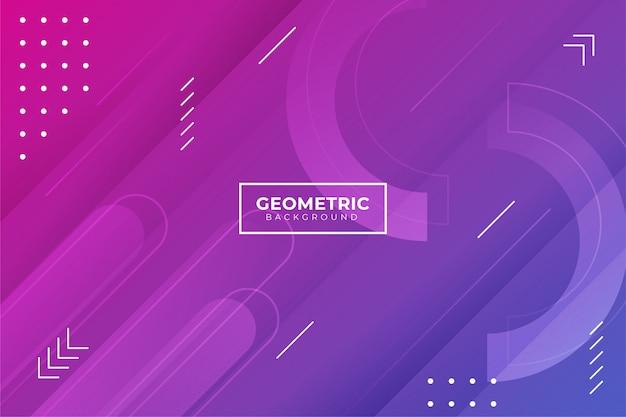 Sfondo sfumato di forma geometrica