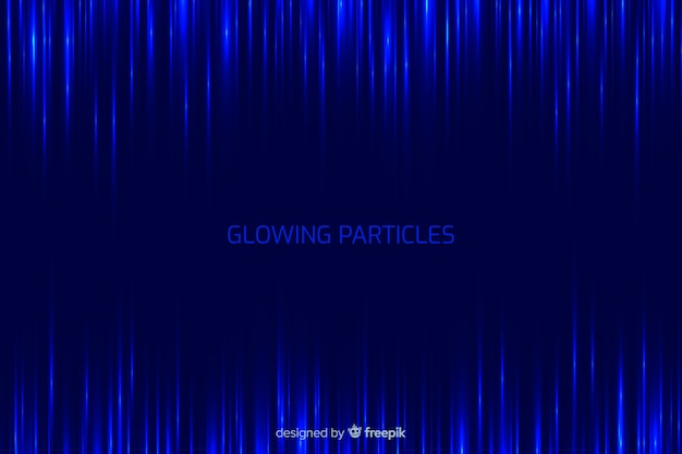 Sfondo sfumato di particelle