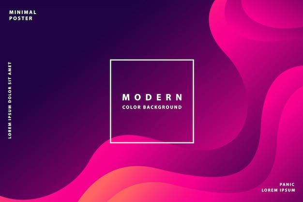 Sfondo sfumato moderno con colore sfumato stile colorato