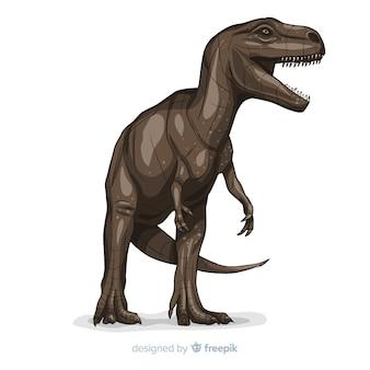 Sfondo t-rex realistico