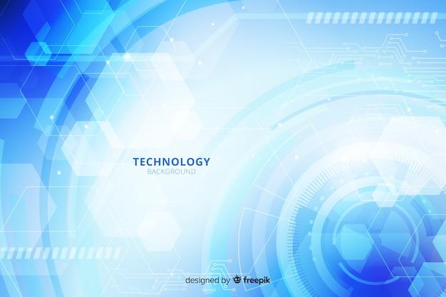 Sfondo tecnologia dettagliata