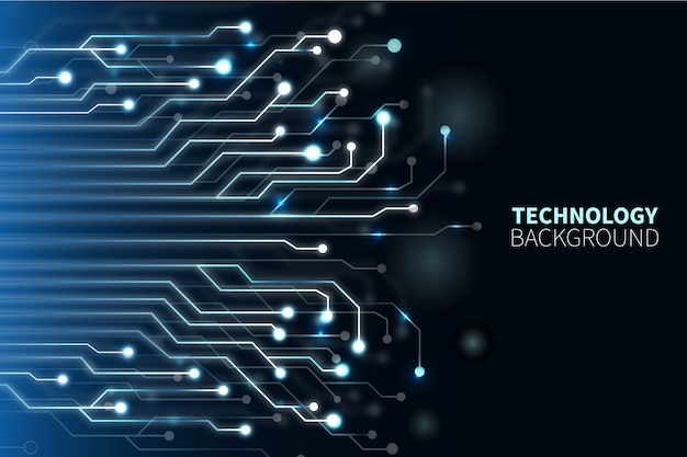 Sfondo tecnologico