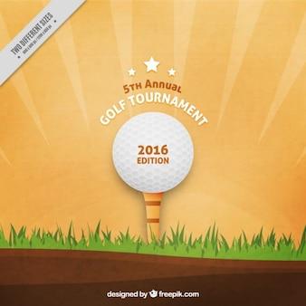 Sfondo torneo di golf