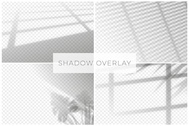 Sfondo trasparente per effetti di ombre