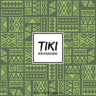 Sfondo tribale con design etnico