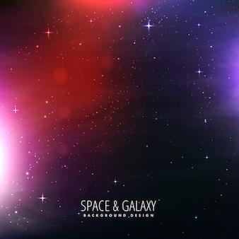 Sfondo universo stellato