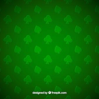 Sfondo verde delle picche