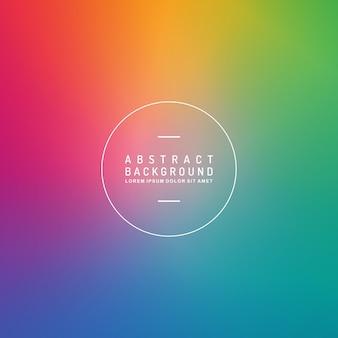 Sfondo vettoriale arcobaleno