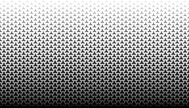 Sfondo vettoriale geometrico senza soluzione di continuità