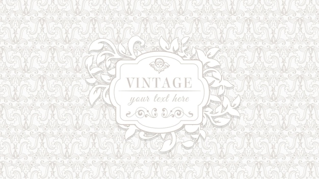 Sfondo vintage ornamentale