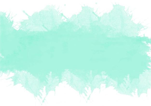 Sfumature colorate di verde. priorità bassa e struttura astratte dell'acquerello