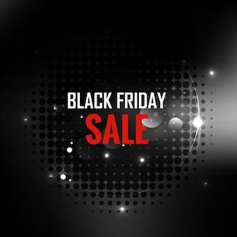 Shiny black venerdì vendita sfondo