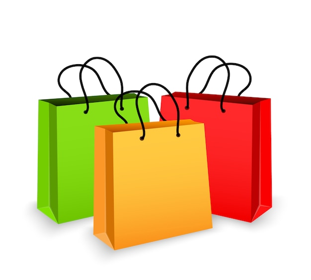 Shopper colorate