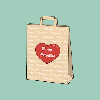Shopping bag di carta