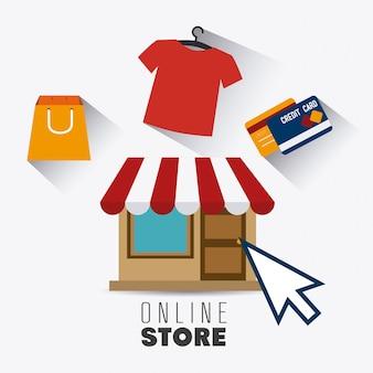 Shopping design.