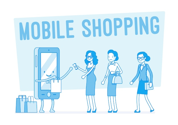 Shopping mobile per donne
