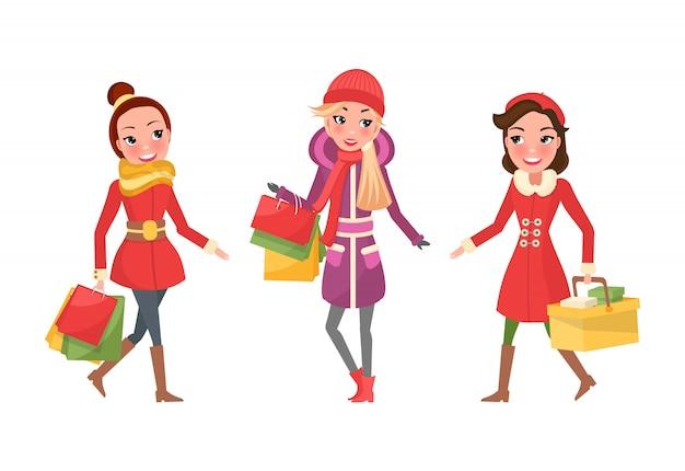 Shopping natalizio, shoppers amiche