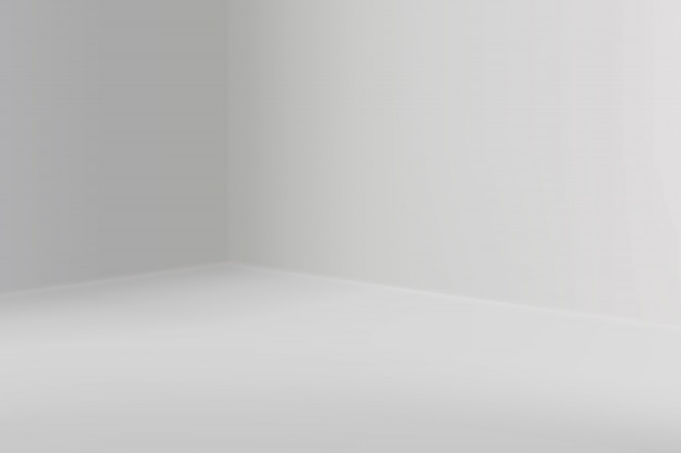 Show room vuoto con angolo quadrato