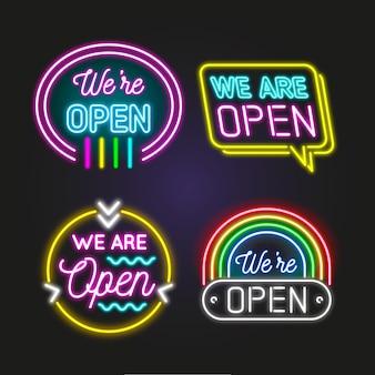 Siamo una collezione aperta di insegne al neon