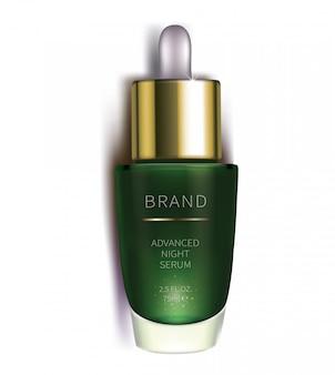 Siero cosmetico notturno per la cura della pelle del viso