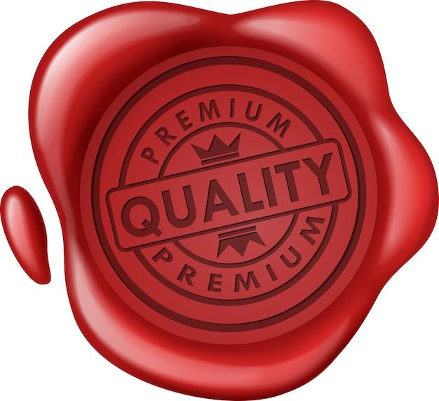 Sigillo in cera di qualità premium