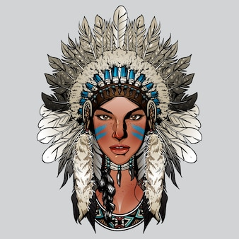 Signora carina indiana