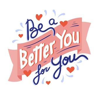 Sii migliore con il tuo lettering