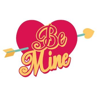 Sii mio. una citazione per una coppia nel giorno di san valentino
