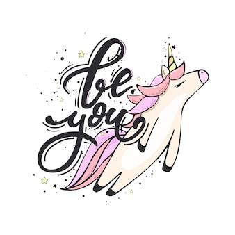 Sii un unicorno