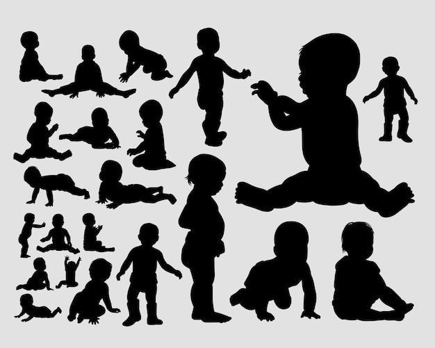 Silhouette collezione bambino