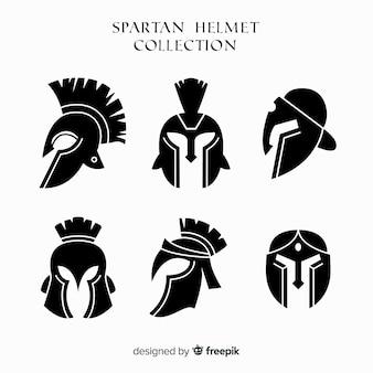 Silhouette collezione casco spartano