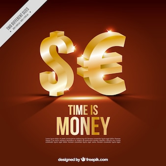 Simboli di denaro sfondo