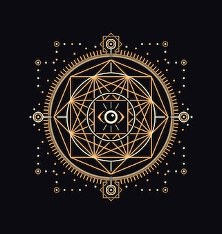 Simboli sacri scuri