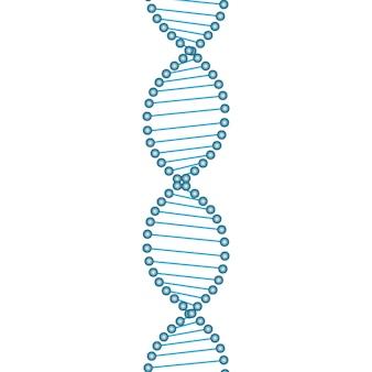 Simbolo del filo del dna.