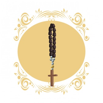 Simbolo del rosario cattolico