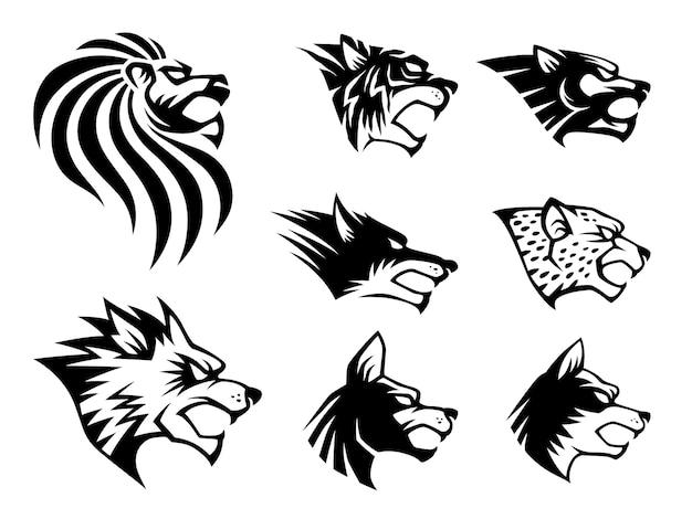 Simbolo della bestia selvatica