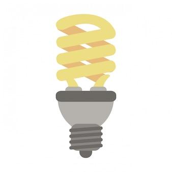 Simbolo di energia della lampadina