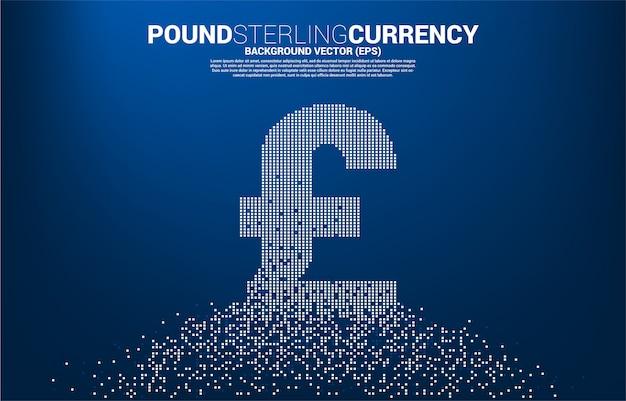 Simbolo di valuta euro soldi da pixel trasformare.