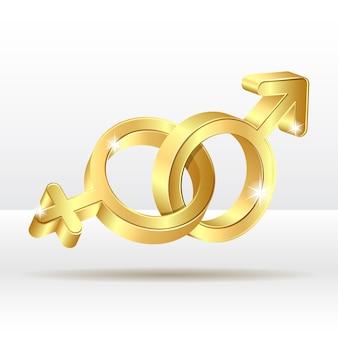 Simbolo femmina maschio