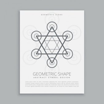 Simbolo pantaloni a vita bassa geometria sacra