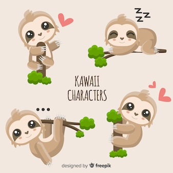 Simpatici personaggi kawaii
