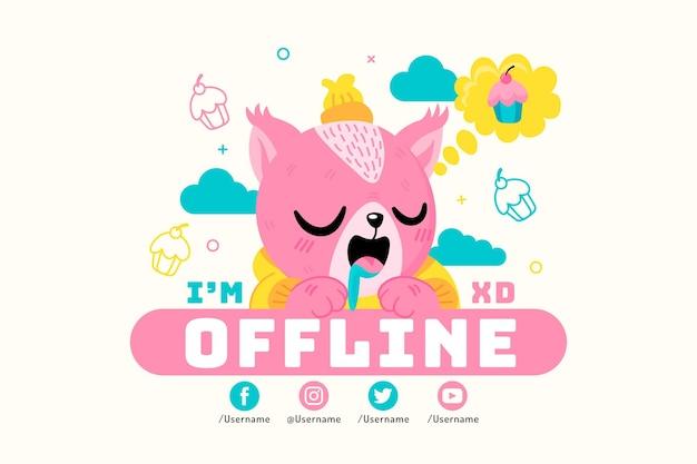 Simpatico banner twitch offline
